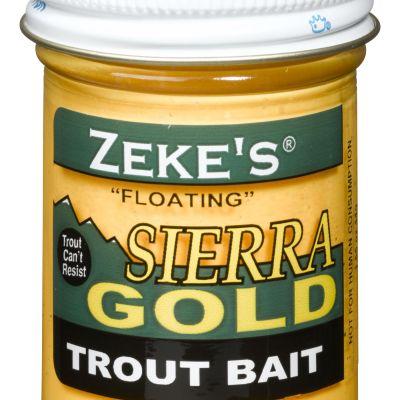 0912 Zeke's Sierra Gold Floating Trout Bait - Yellow