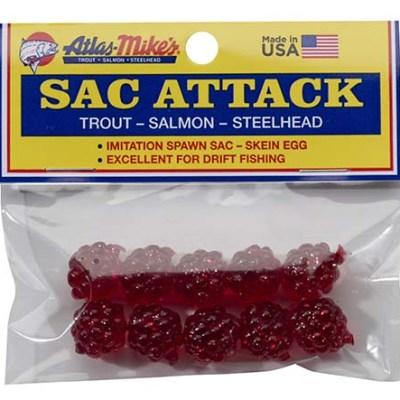 41026 Atlas Sac Attack (10/Bag) - Red