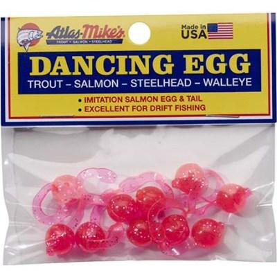 42025 Atlas-Mike's Dancing Egg Glitter Pink