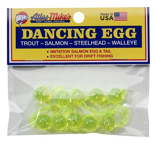 42027 Atlas-Mike's Dancing Egg Glitter Chartreuse