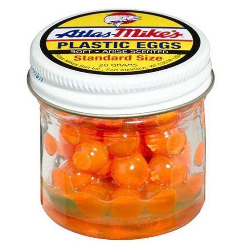 43003 Atlas Plastic Egg - Orange