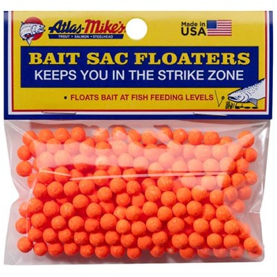 99003 Atlas Mike's Bait Sac Floaters Orange