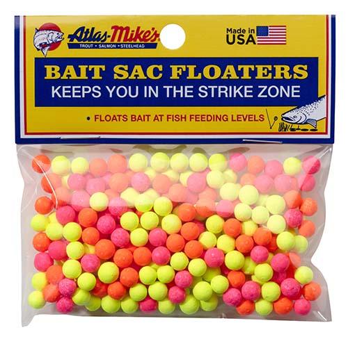 99008 Atlas Bait Sac Floaters - Assorted