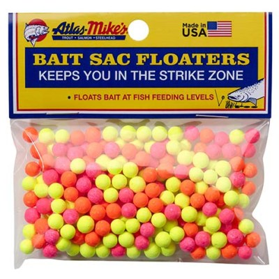 99008 Atlas Bait Sac Floaters - Assorted