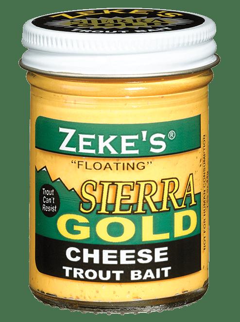 Zeke's Sierra Gold - Cheese Trout Bait