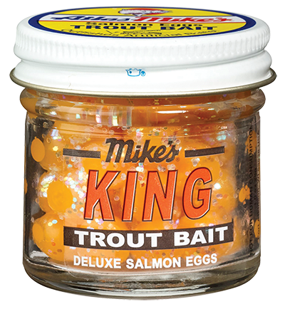 1204 Mike's King Glitter Egg - Yellow