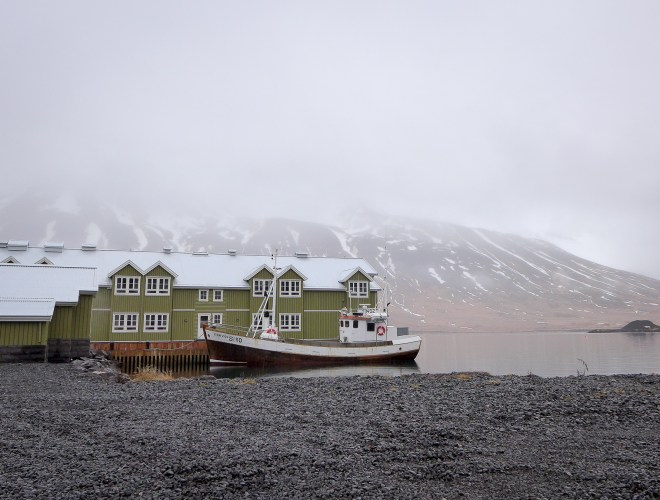 Iceland Color Ship
