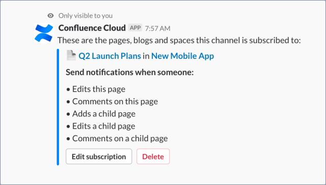 Slack-Confluence-Edit-Subscription