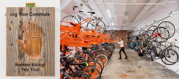 Bike storage is part of making workplaces more sustainable