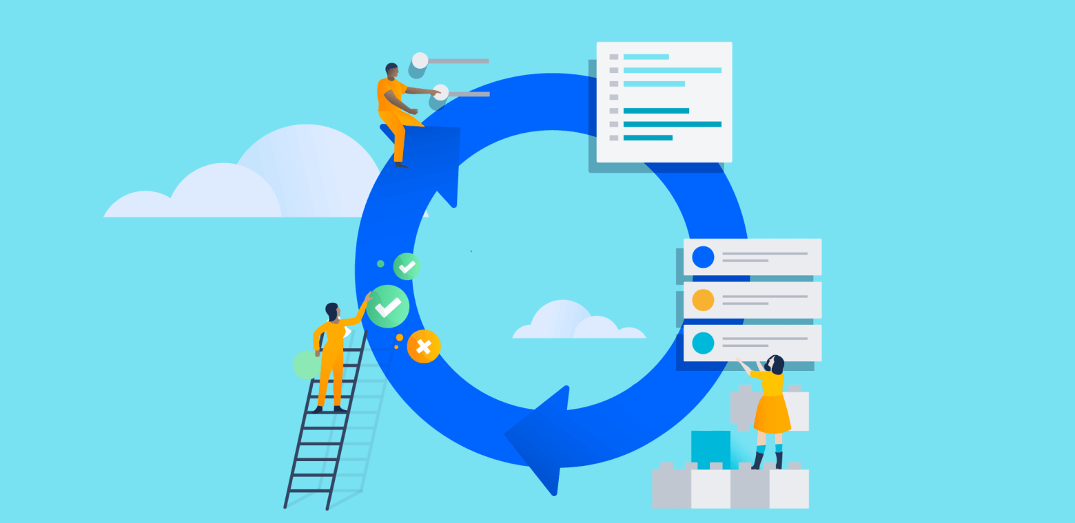 4 ways to manage change seamlessly in Atlassian Cloud illo