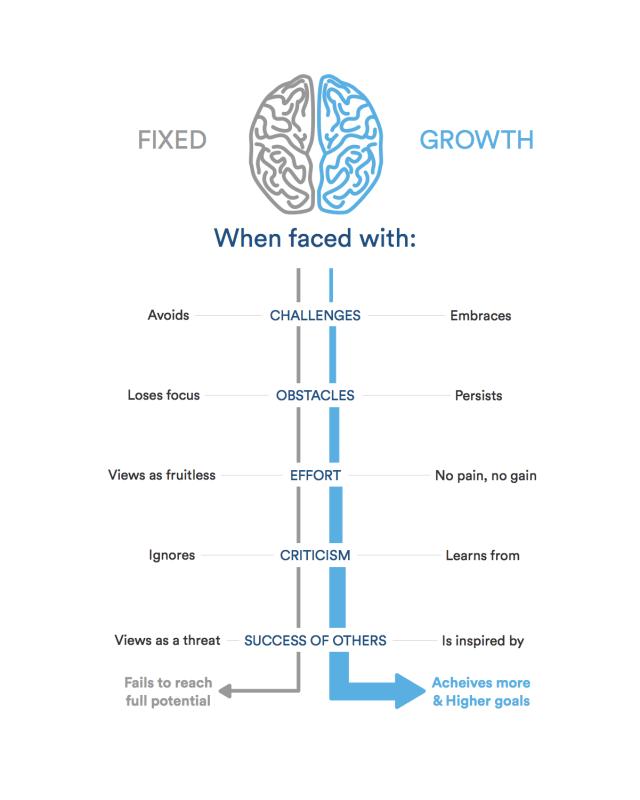 An illustration of the Growth Mindset framework