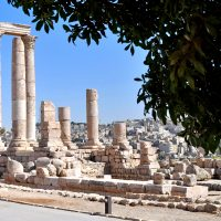 Ruins of The Citadel in Amman