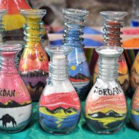 The Famous Colored Sand Bottles from Amman