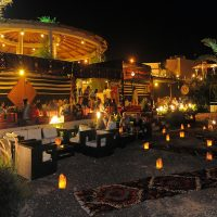 Bedouin Tent at Berenice Beach Club in Aqaba