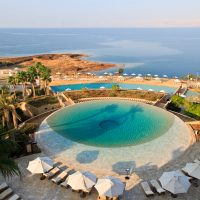 Dead Sea from Kempinski Hotel Ishtar