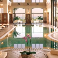 Indoor Swimming Pool of Marriott Dead Sea