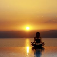 Meditation at The Dead Sea
