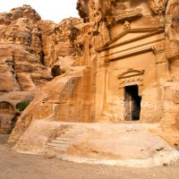 Tomb in Little Petra