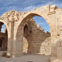 The Arches of Shobak Castle