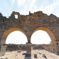 Ruins of West Church - Umm el-Jimal