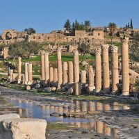 Colonnaded Street (The Cardo) - Umm Qais