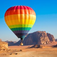 Hot Air Balloon Riding in Wadi Rum