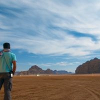 Star Gazing in Wadi Rum