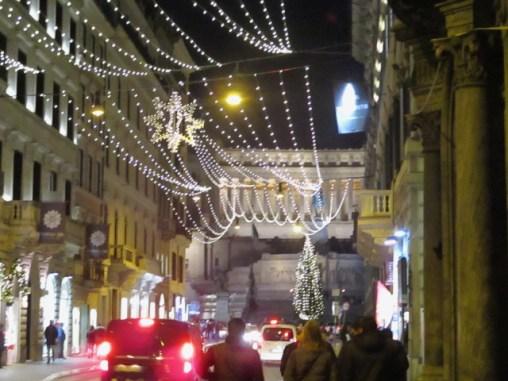 Via del Corso und Piazza Venezia