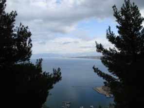 Blick auf Castellammre del Golfo