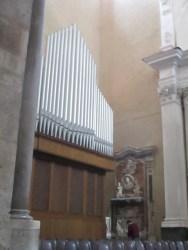 mit der Orgel