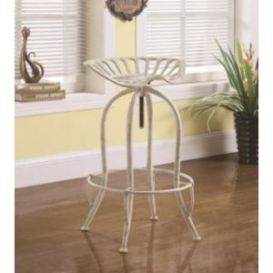 Dining Chairs and Bar Stools Metal Tractor Seat Adjustable Stool