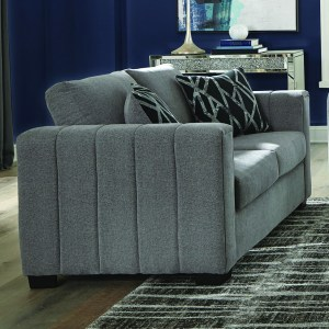 Layton Upholstered Loveseat Grey