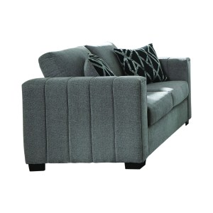 Layton Upholstered Loveseat Grey