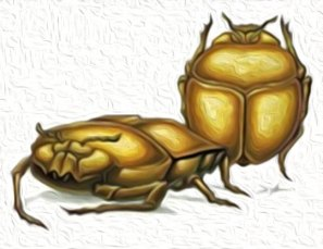 Hungry Gold Bugs