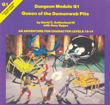 Q1 Queen Of The Demonweb Pits