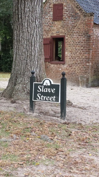 Slave Street. The moment it began to hit me