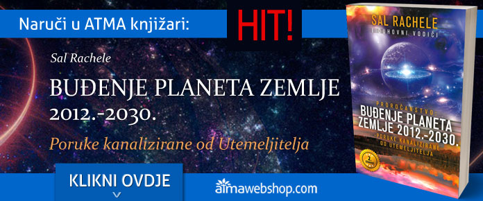 banner za knjige BUDENJE PLANETA ZEMLJE