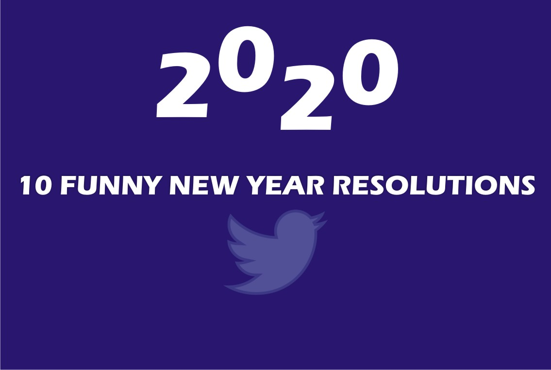 10 Funny New Year Resolutions