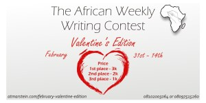 The African weekly writing contest: Valentine Edition