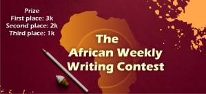 African weekly writing contest: First-week winners in January Announced