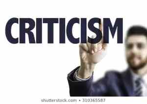 Criticism and what you need to know about it