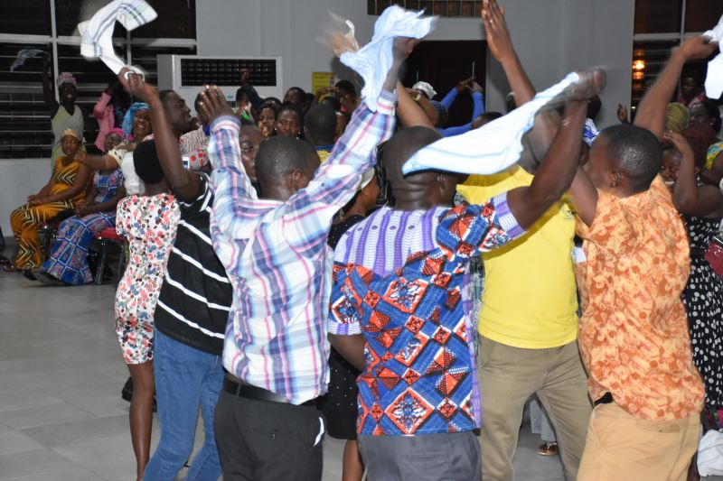 See how church Members Are Celebrating, After COVID-19 Church Ban Was Lifted.