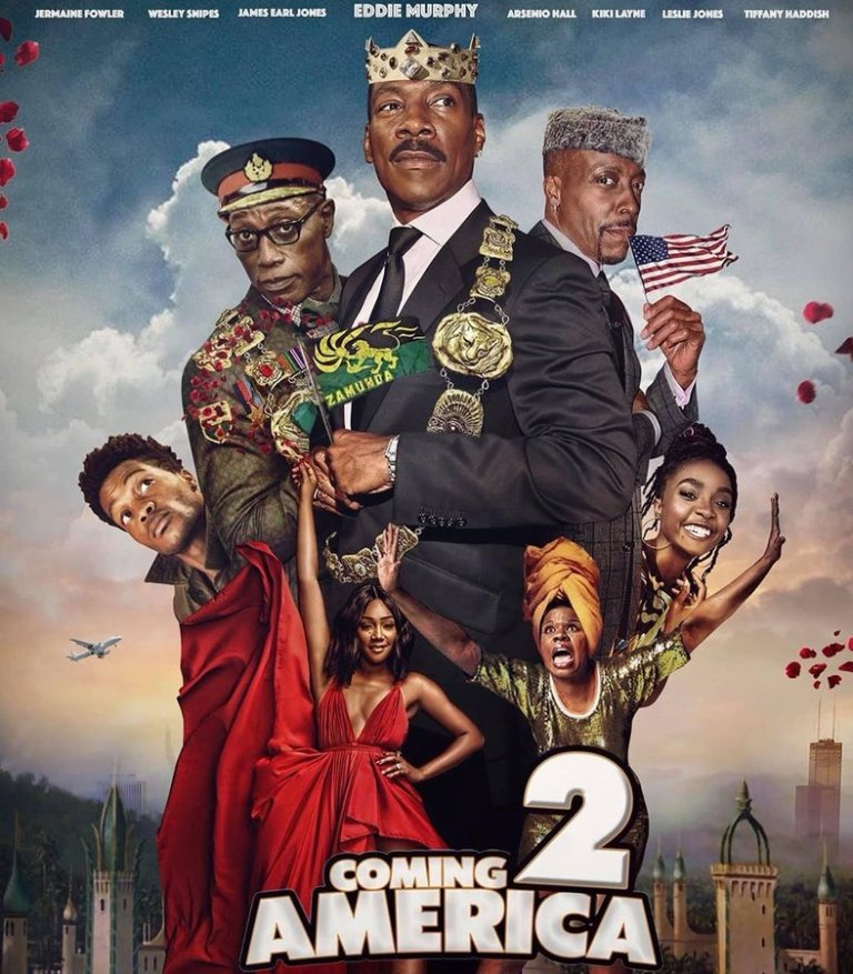 Davido Rumored to Be Making An Appearance In 'Coming to America 2'