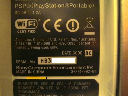 PSP Serial