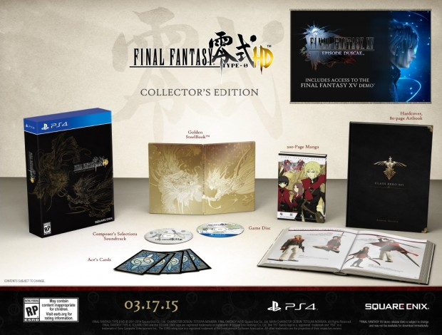 FF Type-0 Collectors Edition