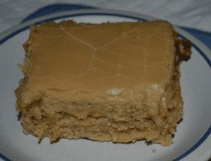 at mimi's table best ever peanut butter sheet cake