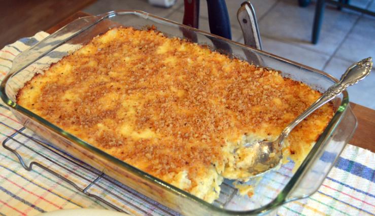 grannie geek, side dishes, potato casserole