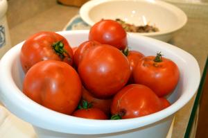 grannie geek, bowl of tomatoes 2
