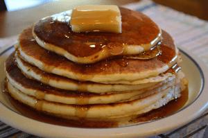grannie geek, homemade pancakes