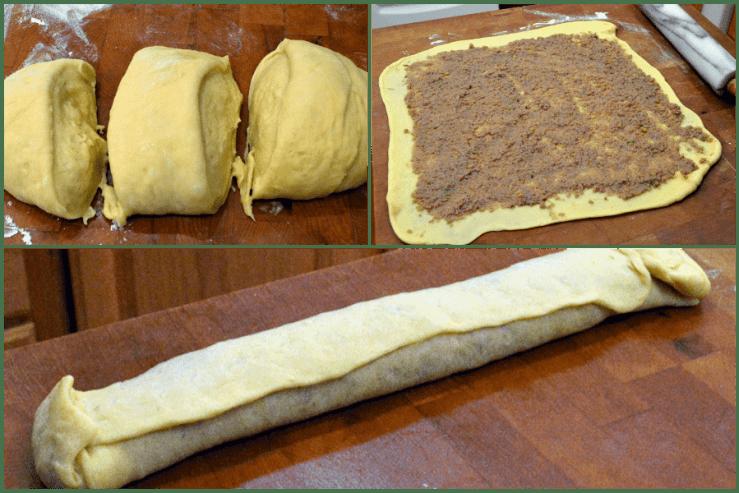 grannie geek, forming walnut rolls